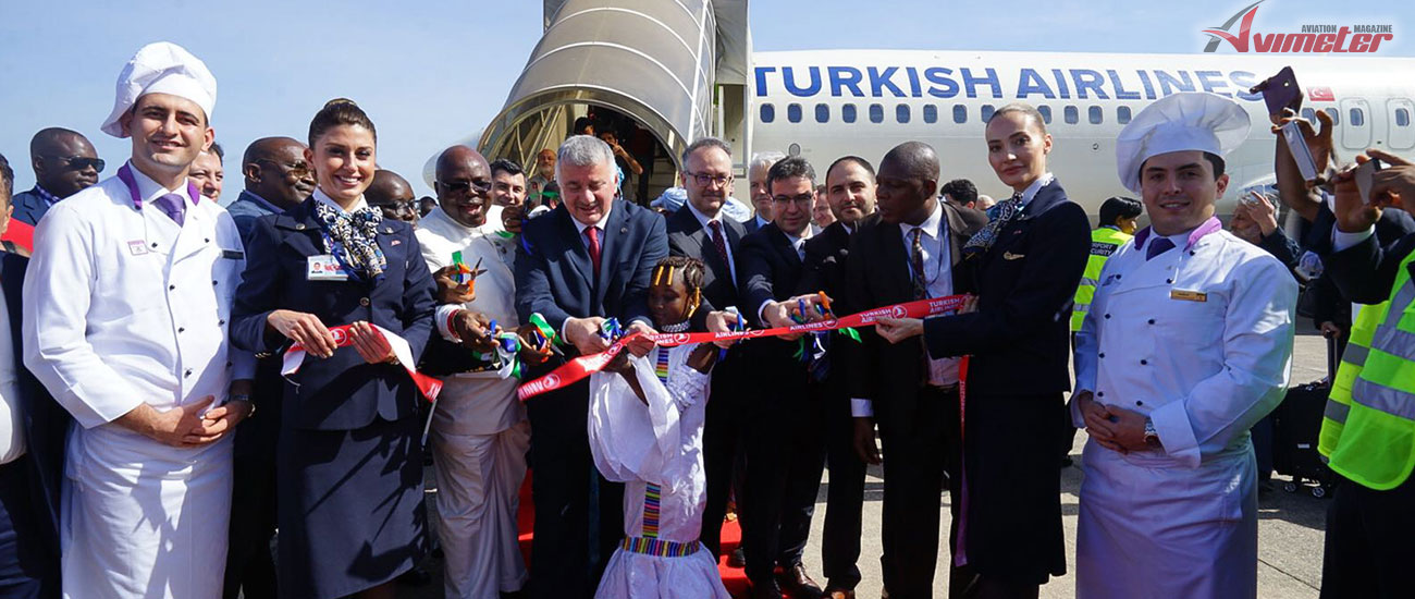 Turkish Airlines started flights to Freetown, as its 52nd destination to be served in Africa