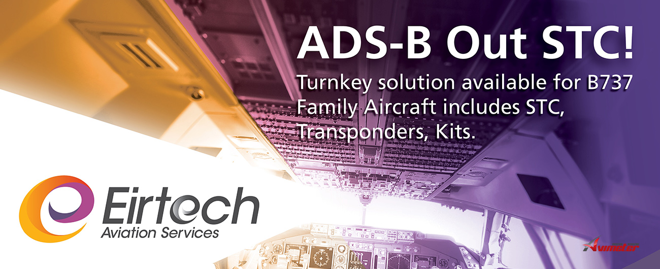 Eirtech Aviation Services Solution ADS-B Out STC