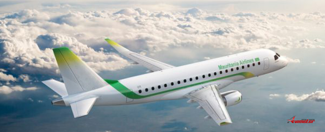 Embraer and Mauritania Airlines Sign Pool Program Agreement forNew E175 Fleet