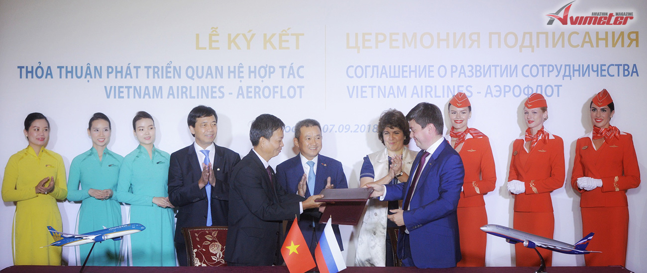 Vietnam Airlines and Aeroflot sign Memorandum of Understanding for strategic cooperation