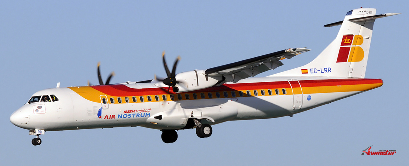 NAC delivered three ATR 72-600 aircraft, MSN's 1022, 1040 and 1059 to Air Nostrum on lease