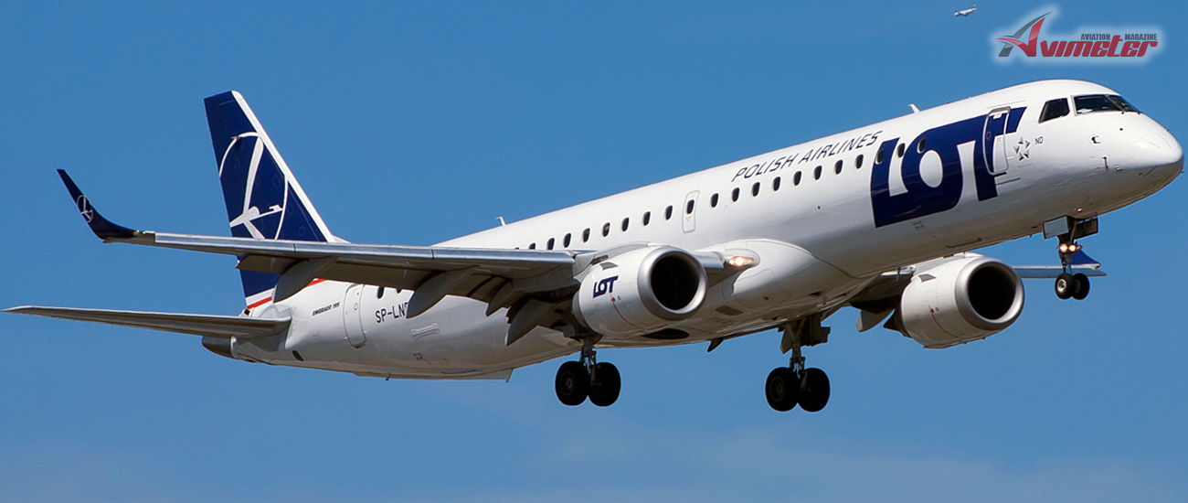 NAC delivered two Embraer E195s, MSNs 19000669 and 19000240, to LOT Polish Airlines on lease
