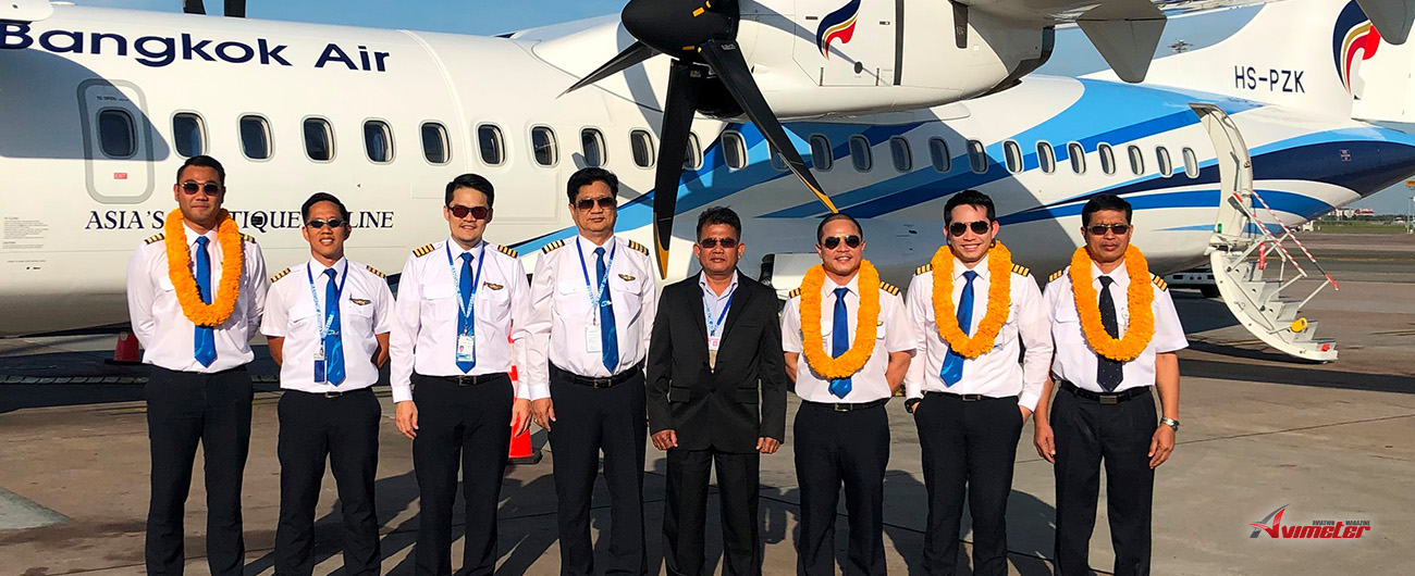 Bangkok Airways welcomes its latest ATR 72-600 Aircraft