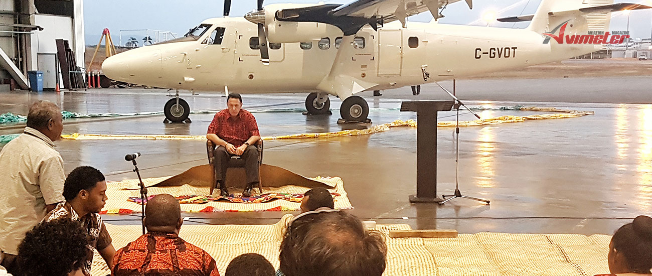 Fiji Link Adds Fourth Brand New Twin Otter To Fleet